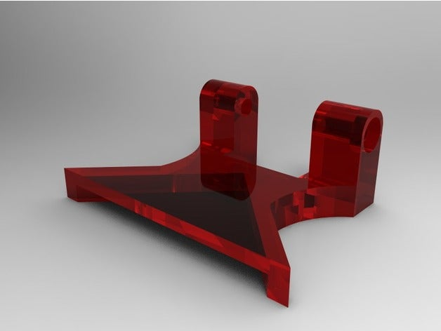 corner mount bed plate 3d