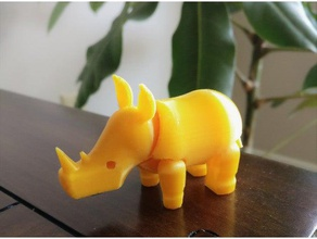 rhino toys & games 3d rhino animal rhino rhino toy rhinoceros toy