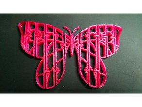 flexi butterfly 3d printing articulating butterfly flexcy butterfly flexi flexy flexy butterfly