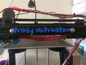 printy mcprintface cut dual extrusion 3d printer accessories 2020 aluminum extrusion dual extrusion