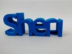 sheri signs & logos 3d name 3d names sheri