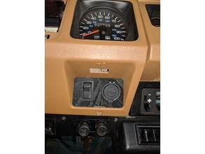 sn jeep yj right aux panel cig toggle v1 3d printing jeep jeep wrangler jeep wrangler yj jeep yj