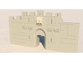 old city jerusalem - lions damascus zion & herod's gates buildings & structures architecture jerusalem