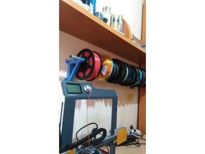 soporte filamentos pared 3d printer accessories 3d printer spool holder filament spool holder soporte soporte bobinas soporte filamento 3d soporte fuente spool holder