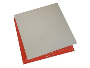 3d printer aluminum build plate 330x330mm build size 3d printer accessories build plate build platform heated bed
