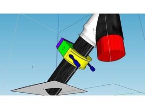 xiaomi m365 clamp Roller frame Montage-add-Kasten-Beutel - plateau et collier serrage rajout pour boite ou sac sport & im freien Tasche box Klemme m365 xiaomi
