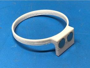 magnetic mica holder diy blank mica pen resin