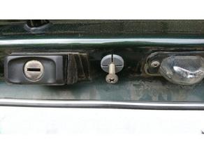 golf mk2 tampa do porta-malas lidar com passador a indústria automotiva passador golfe golf 2 golf mk2 alça tampa tronco vw golf