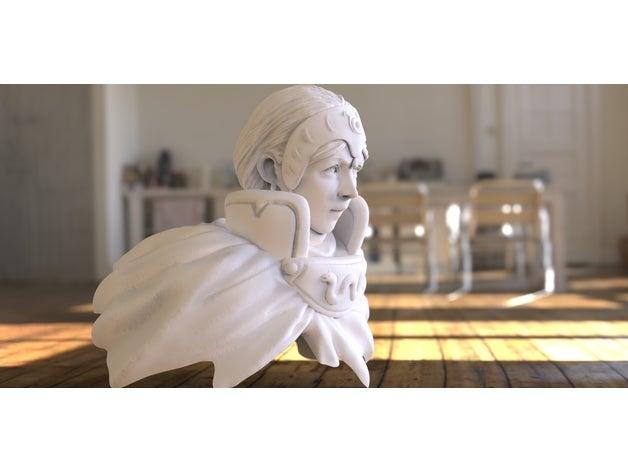 princess kushana sculptur