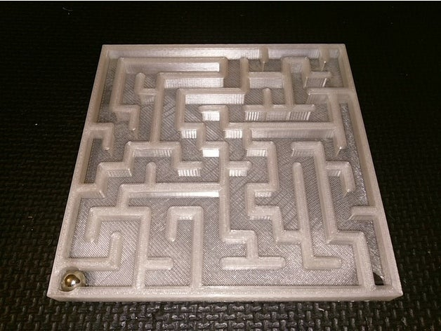 rolling ball maze generat