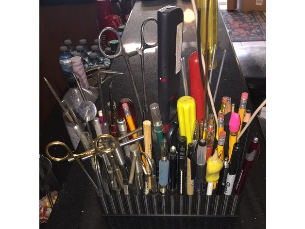pen-tool holder bench-top