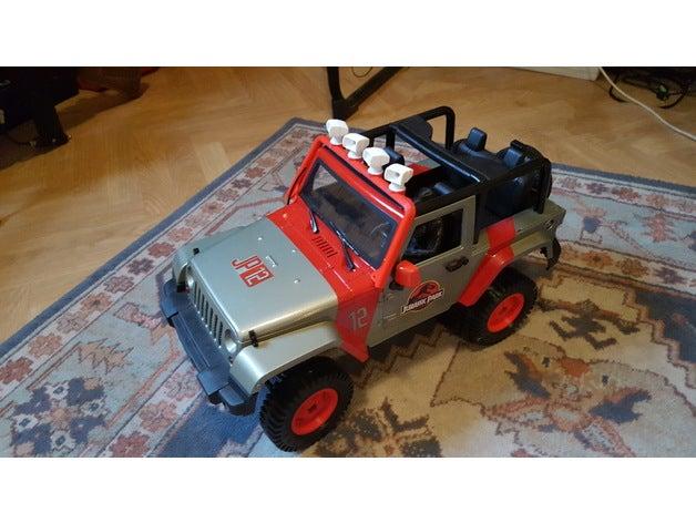 jurassic parck jeep wrang