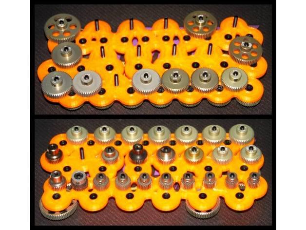 pinion rack 64dp r c vehi