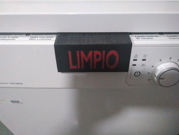 cartel lavavajillas - dis