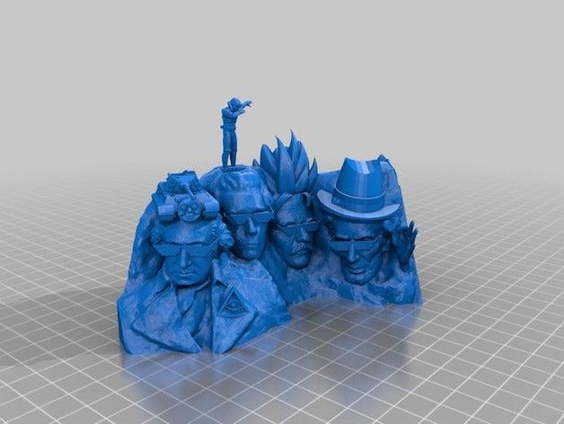 mount dankmore sculptures