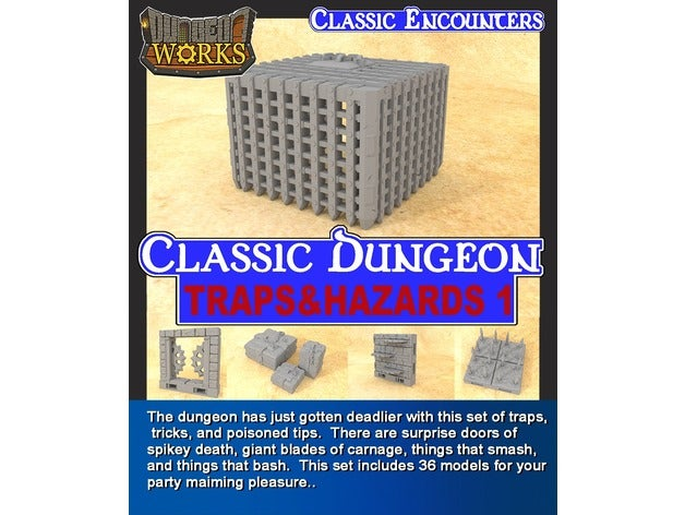 classic dungeon traps & h