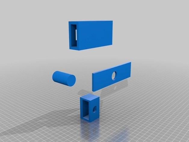 push lock 3d printing ben