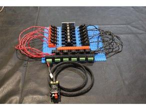modular battery cell test fixture electronics battery battery cell battery holder cell cell test fixture holder lithium lithium ion battery