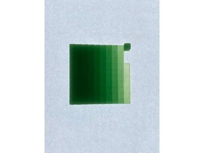litho filament calibration tool 2d art calibrate calibration filament litho lithophane transparency test