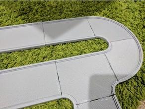 ajuste de prensa hotwheels carreteras playsets hotwheels los niños las miniaturas de la raza pista de carreras carretera de la ciudad de juguete de la pista