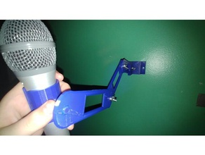 wall-mounted microphone arm at2100 3d printing articulated microphone microphone mount microphone stand wall mount