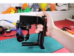 diy handheld gimbal 3d printing creality cr-10 diy gimbal electrical tools fusion360 fusion 360 hand gimbal hand held gimbal handheld gimbal petg storm32 storm32 gimbal