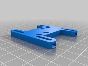 tronxy x1 radial fan adapter - nut slotter series nss 3d printer parts 3d printer 3d printer parts 3d printing adapter cooling fan fan adapter fan mount radial radialcooler radial fan radial fan duct tronxy tronxy x1