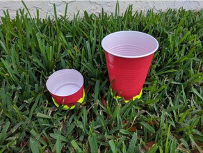 sprinkler cup holder solo cup holder outdoor & garden cup cup holder irrigation lawn save water sod solo solo cup sprinkler sprinkler cup