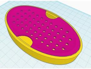 draining two piece soap dish bathroom soap soapdish soap box soap dish soap dish holder soap holder soap tray