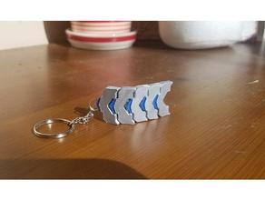 factorio belt keychain accessories belt factorio keychain neat