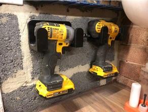 dewalt 18v xr drill wall mount tools 18v dewalt dewalt 18v drill dewalt impact driver dewalt xr drill dewalt wall mount drills drill holder tools tools holder woodworking tools