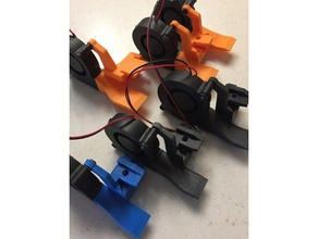 rb3 rbb3 rb2 part cooling ducts - bolted fans 3d printer parts 3d part cooling bolted fan part cooling part cooling duct part cooling fan moun rb2 rb2 upgrade rb3 rb3-xl rbb3 rbb3-xl reliabuild reliabuild3d reliabuild 3d parts rigidbot rigidbot 2 rigidbot upgrade