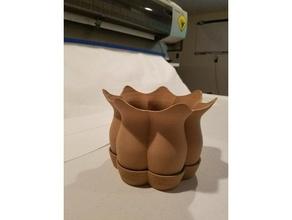 lofted pot saucer outdoor & garden flower flower pot flower pot saucer flower vase garden loft lofted planter pot saucer