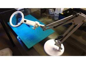 articulated table led magnifier articulated magnifier stand