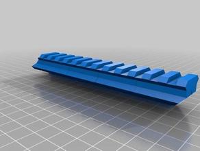 airsoft rail riser 13mm 3d printing airsoft airsoft rail riser airsoft accesories airsoft attachment airsoft parts airsoft rail rail riser
