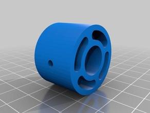 hypercube & aluminyum profile foot m8 3d printer parts 20x20 foot 30x30 foot aluminum profile foot foot hypercube foot hypercube leg leg