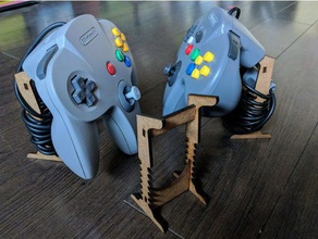 n64 controller stand