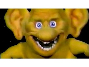 freddie freaker sculture freddiefreaker i goblin modello monster oney oneyplays posa tpose giallo