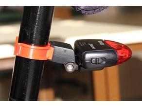 busch & mueller ix-red compatible seatpost clamp vehicles bicycle bicycle light mount busch mueller fahrrad fahrradlichthalterung sattelstange seatpost