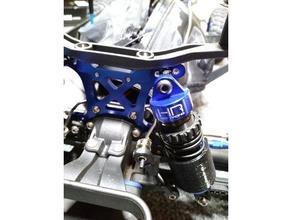 traxxas slash 4x4 shock protector 3d printing big bore hd racing shock traxxas traxxas slash traxxas slash 4x4 lcg