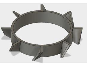 fan blades 40x40 3d printer parts 40x40 40x40mm 40x40 fan guard blades fan razors replacement