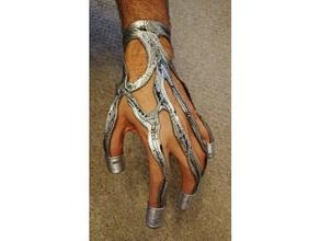 7 9 hand implant props 7 9 borg hand implant implant seven nine star trek star trek voyager voyager