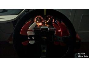g25 27 29 paddle extender sfollati ruota video giochi g27 il logitech g25 logitech g27 logitech g29 pagaia simracing volante la ruota