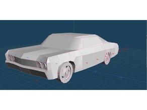 1967 chevy impala vehicles 67 chevy 67 chevy impala car chevrolet chevy chevy impala impala papercraft supernatural