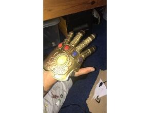 infinity gauntlet vorgeformte Finger-Handschuh 3d-drucken avengers infinity gauntlet infinity-Krieg thanos