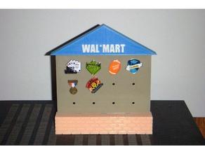 wal mart associate appreciation pin display organization display rack hat pin pin display tack pin wal mart