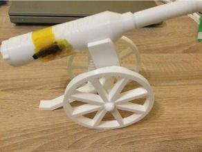 patator d'artillerie artillery potato gun cannon cannon canon experimentboy gun patator spud gun