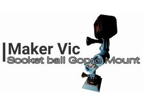 gopro ball socket mount engineering articulated articulated stand ball socket ball joint ball-joint gopro gopro mount gopro session mount joint photography