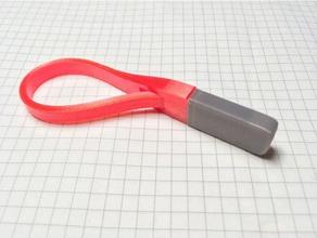 souple porte-clés de porte-clés flexible trousseau de clés