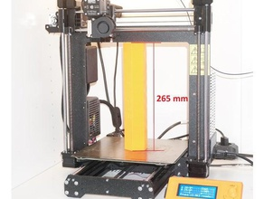prusa i3 mk3 126 build volume 26 5 cm build height + easily exchangeable extruder head 3d printer parts build height build volume upgrade original prusa i3 mk3 prusa i3 mk3 x axis x end idler x end motor z axis